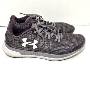 Under Armour Charged Purple Sneakers Sz 7.5